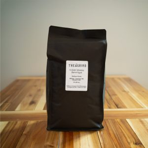 6-Grain Whiskey Barrel Aged Coffee | The Grind Coffee Roasters