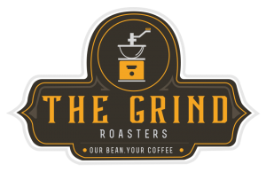 The Grind Coffee Roasters logo full color