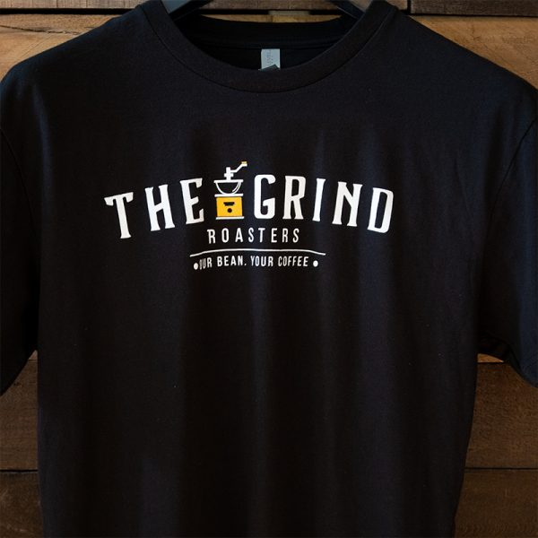 Black Logo T-Shirt | The Grind Coffee Roasters
