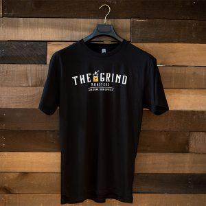 Black Logo T-Shirt | The Grind Coffee Roasters
