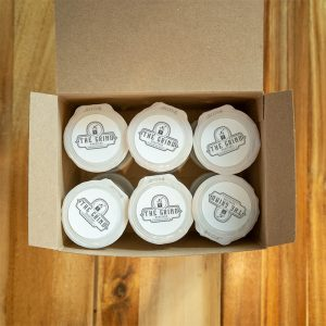 K-cups in box | The Grind Coffee Roasters
