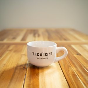 Mug with Logo | The Grind Coffee Roasters