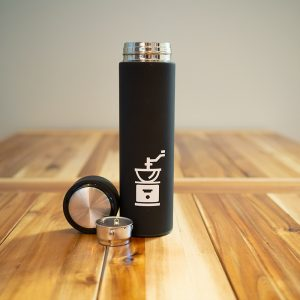 Tea Tumbler with Logo Icon | The Grind Coffee Roasters