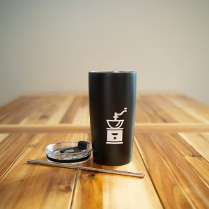 Tumbler with Logo Icon | The Grind Coffee Roasters